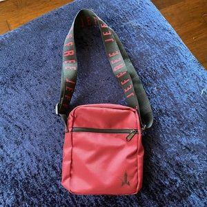 JSC Maroon Side Bag